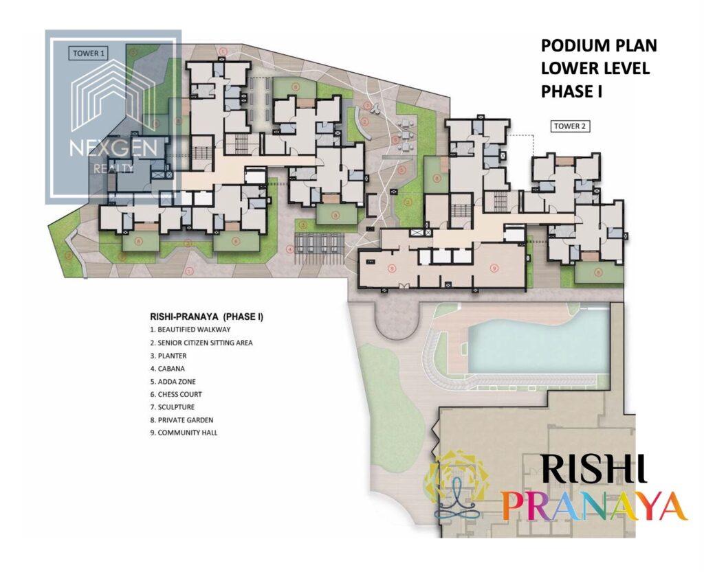 Rishi Pranaya Floor Plan 10