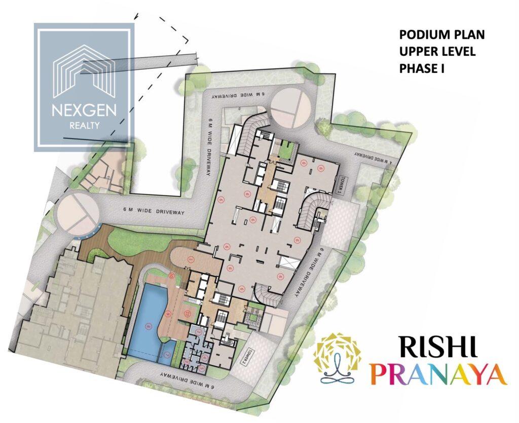 Rishi Pranaya Floor Plan 11