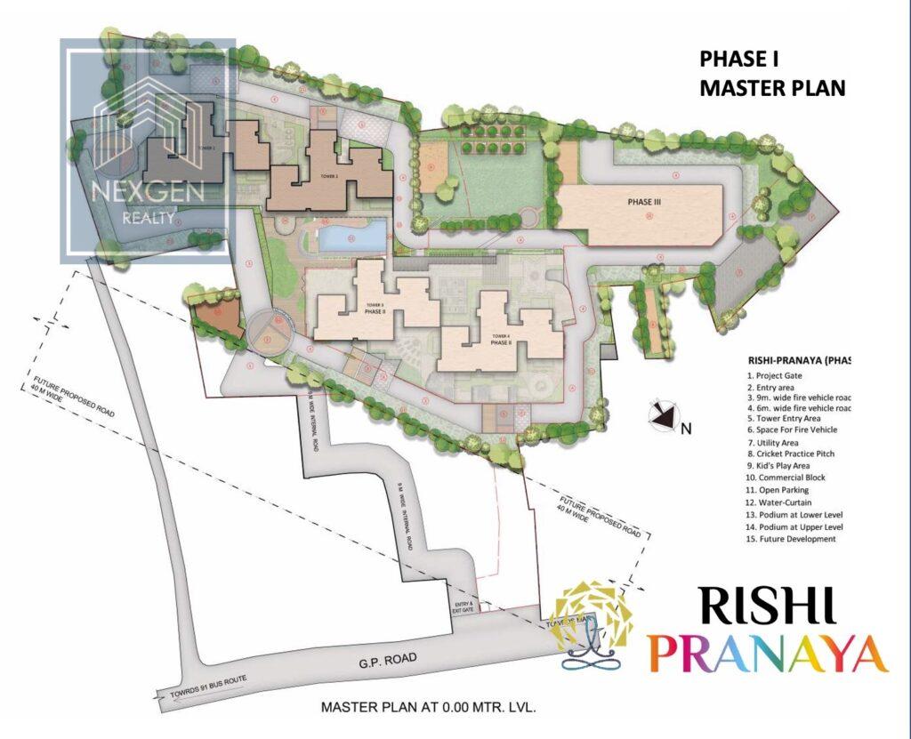 Rishi Pranaya Floor Plan 12