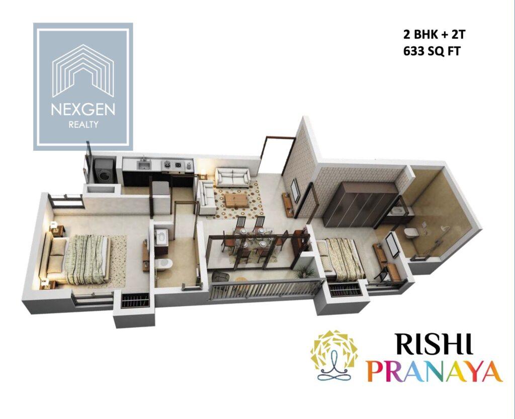 Rishi Pranaya Floor Plan 2