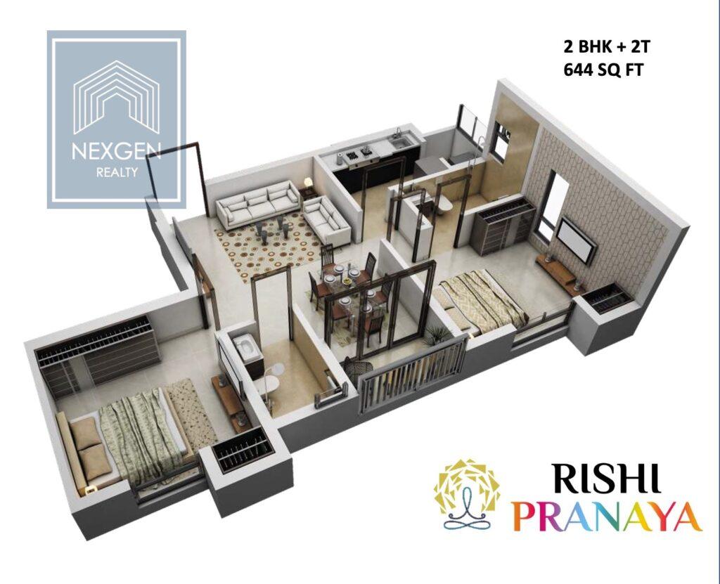 Rishi Pranaya Floor Plan 4