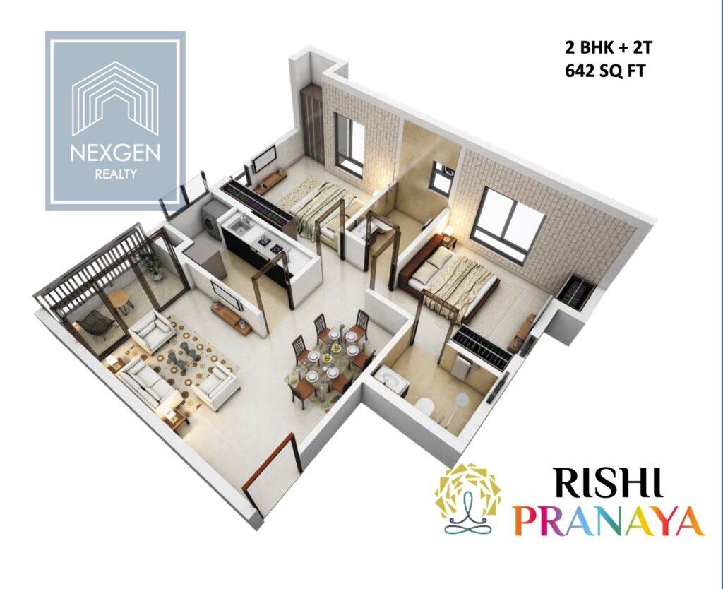 Rishi Pranaya Floor Plan 5