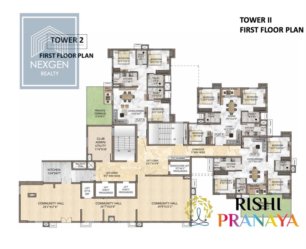 Rishi Pranaya Floor Plan 8