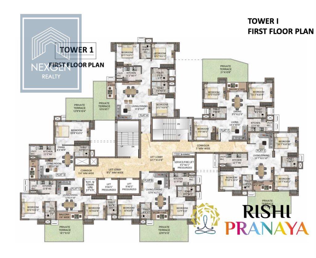 Rishi Pranaya Floor Plan 9