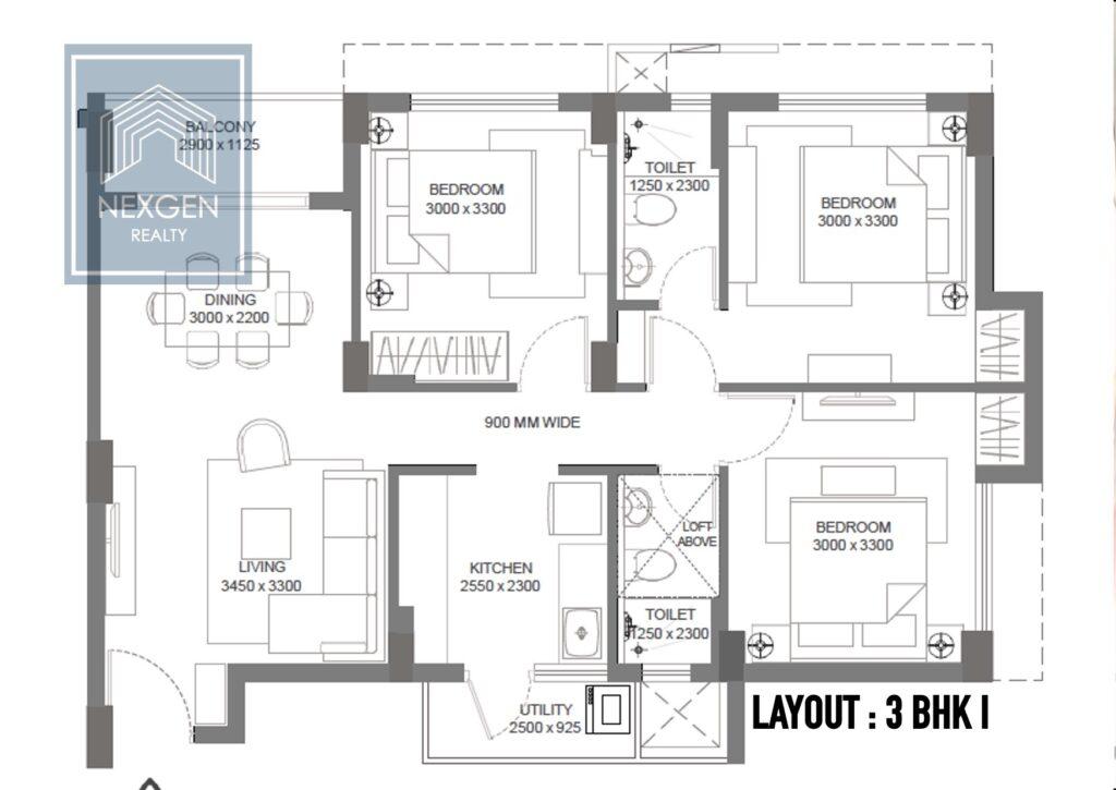 godrej seven floor plans. 4